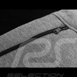 Porsche Jacket 928 Collection Sweat jacket Collar shirt Heather grey Porsche WAP424KHTP - men