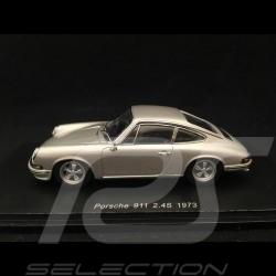 Porsche 911 2.4 S 1973 gris argent silver grey silbergrau1/43 Spark SDC016