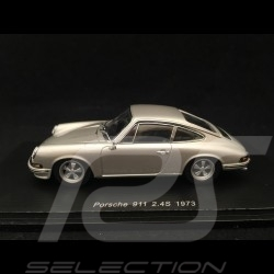 Porsche 911 2.4 S 1973 silber grau 1/43 Spark SDC016