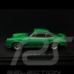 Porsche 911 Carrera 2.7RS 1973 vert signal signal green signalgrün 1/43 Spark SDC017