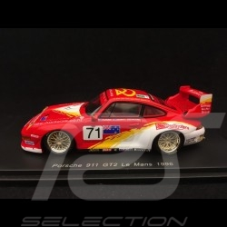 Porsche 911 type 993 GT2 n° 71 Le Mans 1996 1/43 Spark S5529