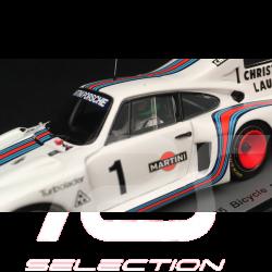 Porsche 935 n° 1 Martini 1978 mit radfahrer Jean-Claude Rude 1/43 Spark S1939