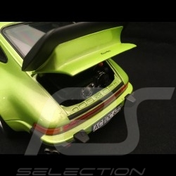 Porsche 911 Turbo 3.3 1978 light green metallic 1/18 Norev 187577