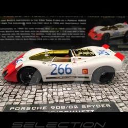 Porsche 908 / 02 Spyder Vainqueur Winner Sieger Targa Florio 1969 n° 266 1/43 Minichamps 437692266