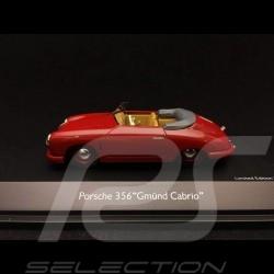 Porsche 356 pre-A Gmünd 1949 1/43 Schuco 450879600 cabriolet ouvert open top convertible offenes Cabrio