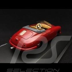 Porsche 356 pre-A Gmünd open top convertible 1949 dark red 1/43 Schuco 450879600