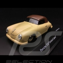 Porsche 356 pre-A Gmünd closed cabriolet 1949 beige 1/43 Schuco 450879700