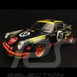 Porsche 911 2.8 RSR n° 46 Kremer Samson 4th GT category 1000 km Spa 1973 1/18 Solido S1801110