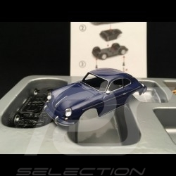 Porsche 356 C coupé 1962 Bali blue Kit 1/64 Schuco 452019900