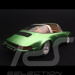 Preorder Porsche 911 S 2.7 Targa 1974 Ascott green 1/18 GT Spirit GT780
