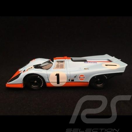 Porsche 917 K Gulf n° 1 Siffert Bell 24h Daytona 1971 1/43 Brumm R269