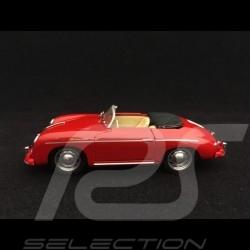 Porsche 356 A Speedster 1955 rouge rubis rubystone red rot 1/43 Brumm R117S05