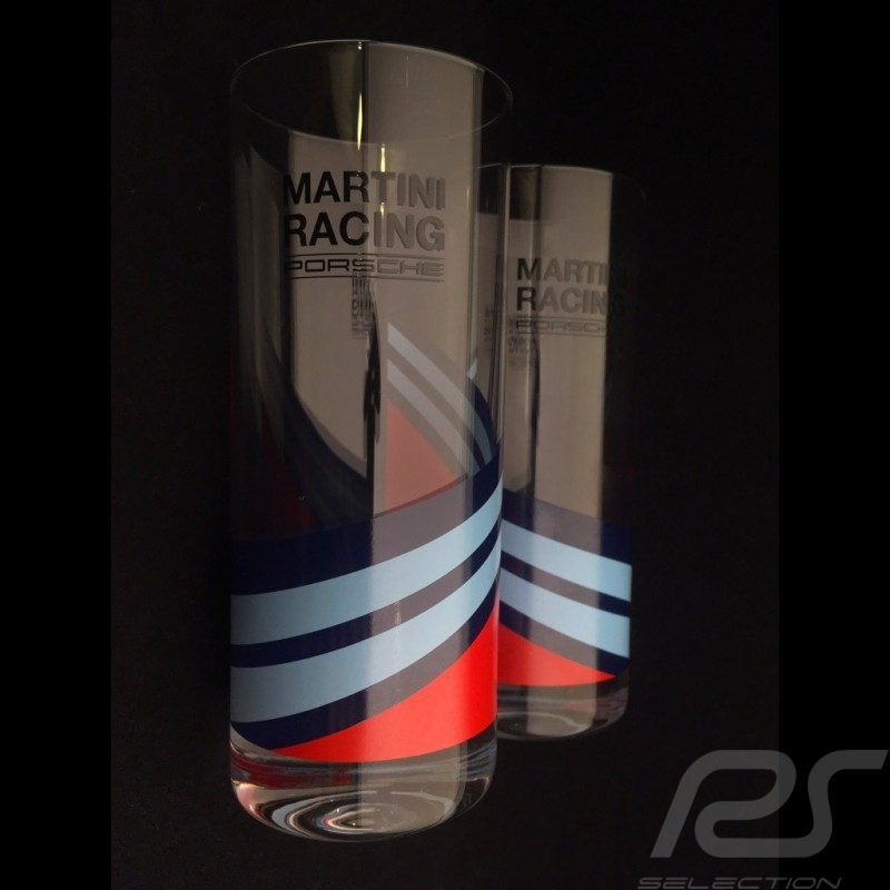 Set of 2 Porsche Martini Racing long drinks Porsche Design WAP0505000L0MR