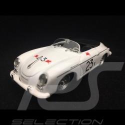 Porsche 356 A Speedster n° 23F James Dean Palm Spring 1955 1/43 Brumm R117B