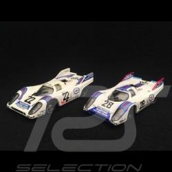 Duo Porsche 917 K Martini Racing Le Mans n° 22 und Zeltweg n° 28 1971 1/43 Brumm R220 R520