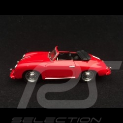 Porsche 356 pre A Cabriolet 1952 rouge red rot Polo 1/43 Brumm R11703