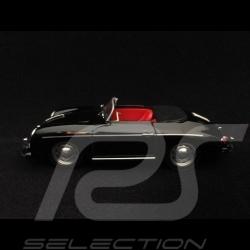 Porsche 356 A Speedster noir black schwarz 1955 1/43 Brumm R117S02