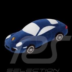 Porsche 911 Carrera en peluche bleue Porsche Design WAP0400020E cuddy toy Plüsch blue blau