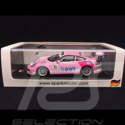Porsche 911 type 991 GT3 Cup n° 10 BWT Lechner Winner Porsche Carrera Cup Germany 2018 1/43 Spark SG502