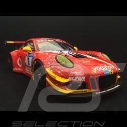 Porsche 911 GT3 R 991 n° 2 Gigaspeed 24h Nürburgring 2018 1/18 Minichamps 155186902