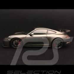 Porsche 911 GT3 991 mk II gris agate métallisé metallic agate grey achatgrau metallic 2017 1/18 Minichamps 110067034