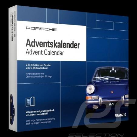 Calendrier de l'avent Porsche 911 2.0 1965 bleu Bali 1/43 MAP09600119 Advent calendar Adventskalender