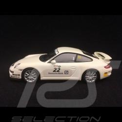 Porsche 911 type 997 GT3 n° 22 Cup Presentation 1/43 Minichamps WAP02012018DB