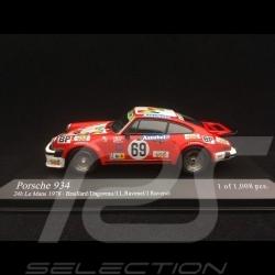 Porsche 934 n° 69 Le Mans 1978 1/43 Minichamps 400786469