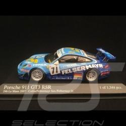 Porsche 911 type 997 GT3 RSR Le Mans 2007 n° 71 1/43 Minichamps 400076771