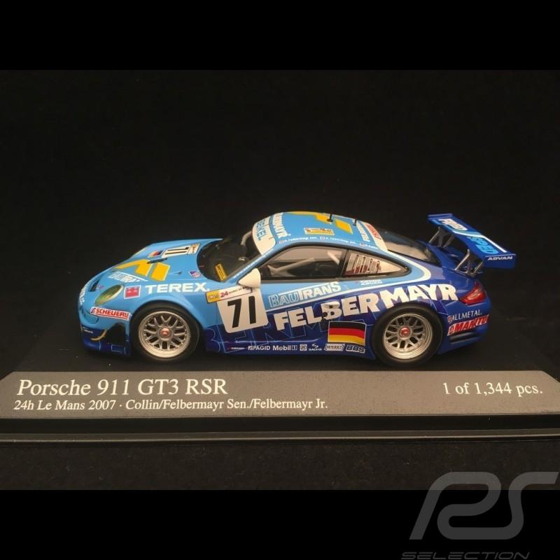 Porsche 997 GT3 RSR Le Mans 2007 n° 71 1/43 Minichamps 400076771