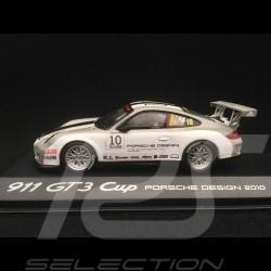 Porsche 911 type 997 GT3 Cup 2010 n° 10 1/43 Minichamps WAP0200170B