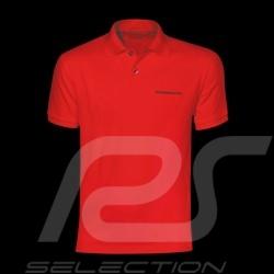 Porsche polo shirt classic red Porsche Design WAP909B - men