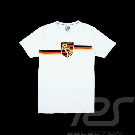T-shirt Porsche Ecusson Crest wappen Edition n° 1 Boîte collector Porsche Design WAP661G - mixte
