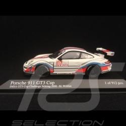 Porsche 911 typ 997 GT3 Cup Sebring 2008 n° 7 1/43 Minichamps 400086707