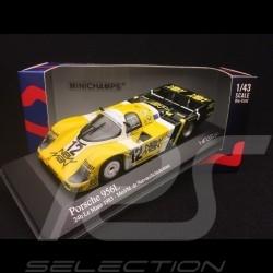 Porsche 956 L Le Mans 1983 Newman n° 12 1/43 Minichamps 430836512