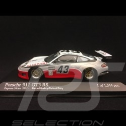 Porsche 911 typ 996 GT3 RS Daytona 2001 n° 43 1/43 Minichamps 400016943