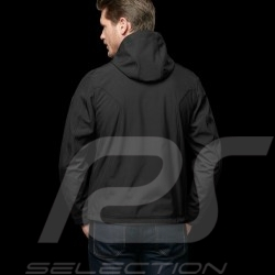 Porsche hoodie Jacket Softshell windbreaker Black Porsche Design WAP516H - men