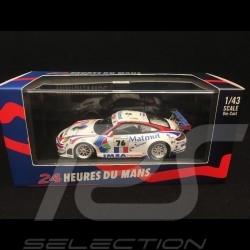 Porsche 911 type 997 GT3 RSR Le Mans 2008 Matmut n° 76 1/43 Minichamps 400087876