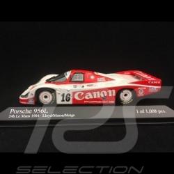 Porsche 956L n° 16 Canon Le Mans 1984 1/43 Minichamps 430846516