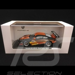 Porsche 911 type 997 GT3 R n° 997 Final Edition 2014 1/43 Spark WAX20140007