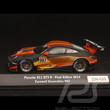 Porsche 911 type 997 GT3 R n° 997 Final Edition 2014 1/43 Spark WAX20140007