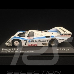 Porsche 956 K Winner Norisring 1986 n° 7 Blaupunkt 1/43 Minichamps 430866607