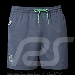 Short de bain Swim Shorts Badehose Porsche Carrera RS 2.7 Collection Gris Bleu WAP949J - homme