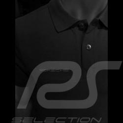 Porsche polo shirt classic black Porsche Design WAP936L0SR - men