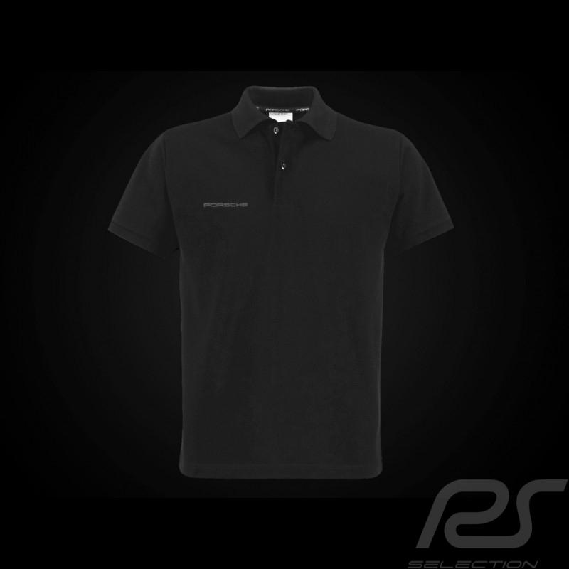 Porsche polo shirt classic black Porsche WAP936L0SR - men