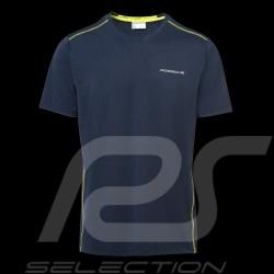 T-shirt Porsche Sport Collection Porsche WAP545J Bleu sombre Dark blue Dunkelblau homme men herren