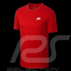 T-shirt The Nike Tee original Nike 827021-611 rouge red rot homme men herren
