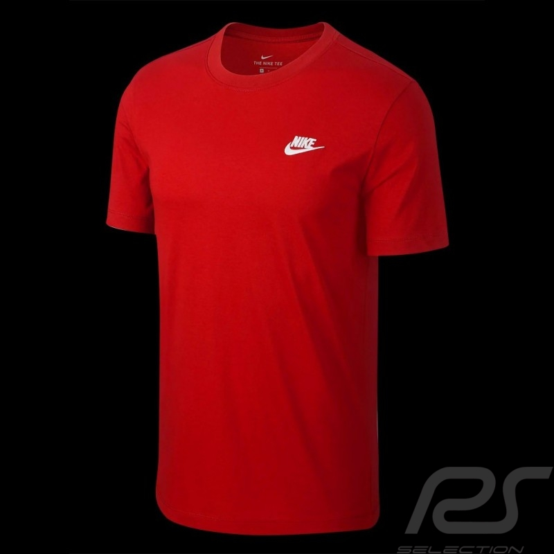 The Nike Tee original T-shirt red Nike 827021-611 - men