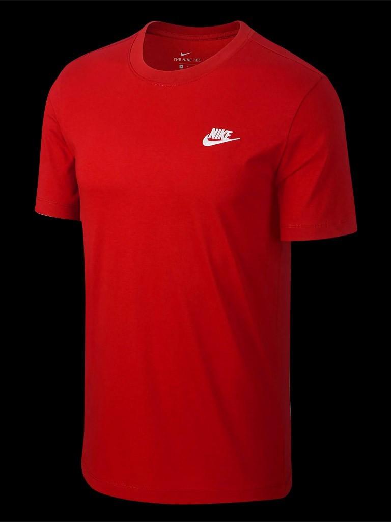 T shirt The Nike Tee original rouge Nike 827021 611 homme