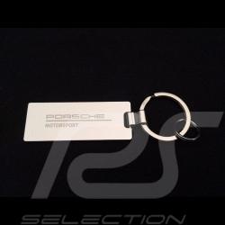 Porte clé key ring Schlüsselring acier steel Stahl Porsche Motorsport Porsche Design WAP0500060LFMS